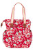 Basil Bloom Shopper scarlet red